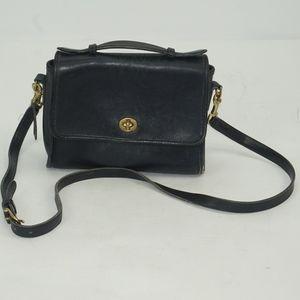Vintage Coach Court Style Adjustable Crossbody Bag